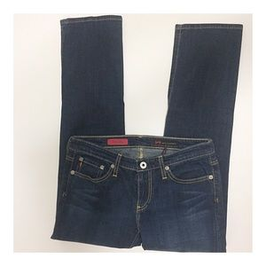 Ag Adriano Goldschmied Jeans - AG Adriano Goldschmied The Sweetie Cropped Jeans